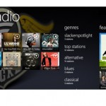 Slacker Radio on HTC HD 7