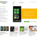 Windows Phone 7 site
