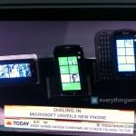 Windows Phone 7 phones