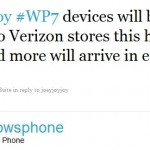 Verizon Windows Phone 7