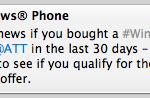 Windows Phone BOGO