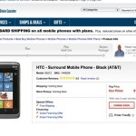 Best Buy HTC Surround