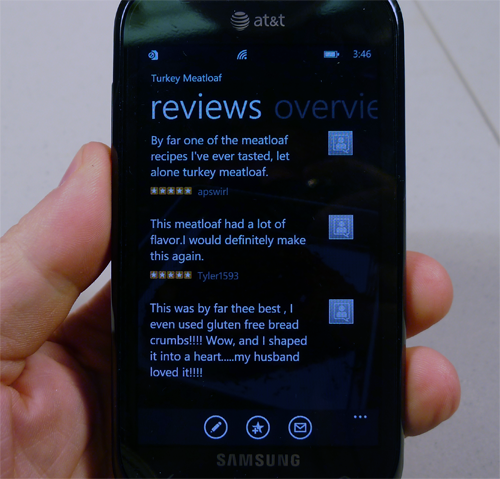 Big Oven WP7 Review