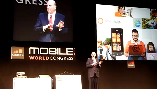 Steve Ballmer at MWC