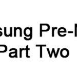 SamsungPre-NoDoPartTwo
