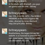 MoTweets Twitter app for Windows Phone 7