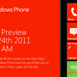Microsoft Windows Phone Event