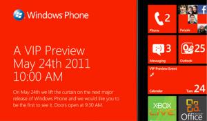 Microsoft Windows Phone Event