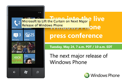 Windows Phone Press Event