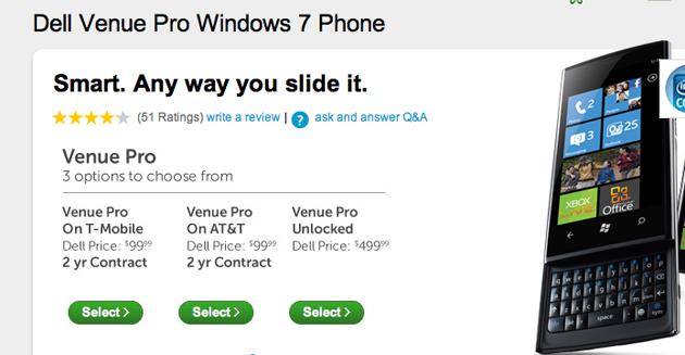 Dell Venue Pro AT&T