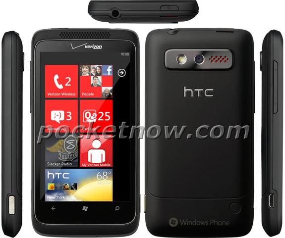 Verizon HTC Trophy