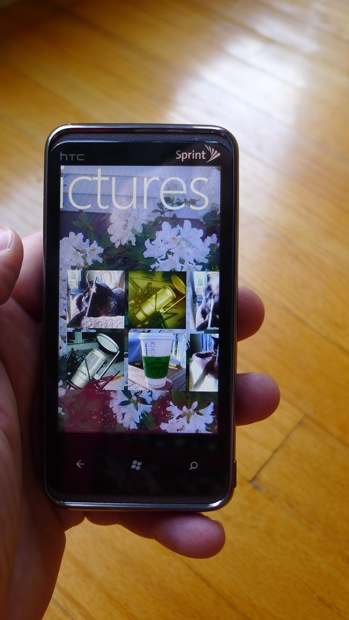 Windows Phone 7 pictures