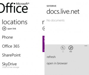 Windows Phone Office 365