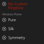 Custom Ringtones Windows Phone Mango