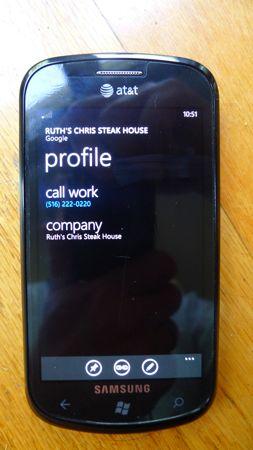 Edit contact