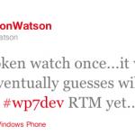 Windows Phone Mango RTM