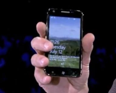 Samsung Windows Phone Mango