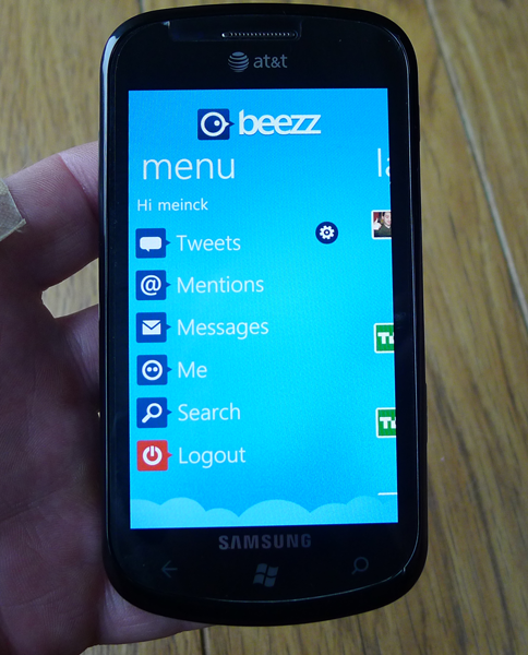 Beezz for WP7