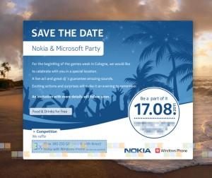 Nokia Microsoft party