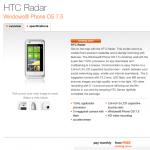 HTC Radar Free