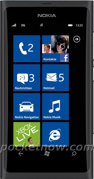 Nokia 800 Windows Phone