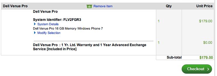 Dell Venue Pro unlocked
