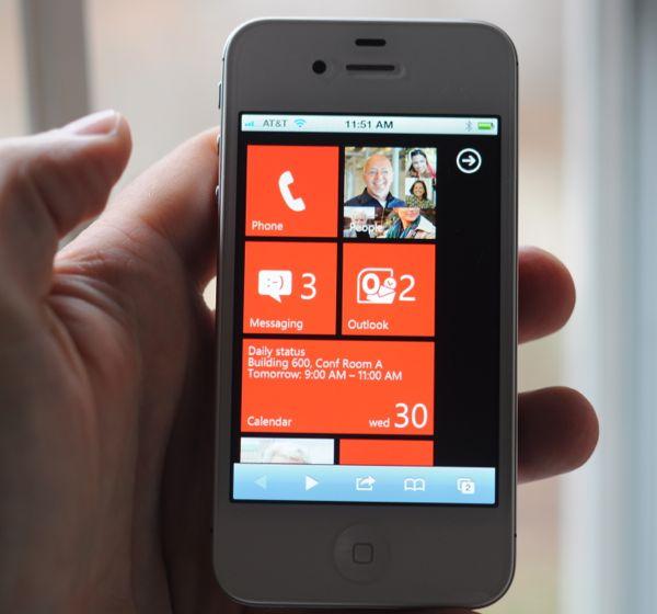 windows phone on ios