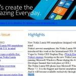 Nokia Lumia 900 release