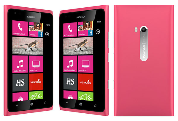 Magenta Lumia 900