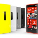 The colors of the Lumia 920