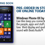 Windows Phone 8 pre order