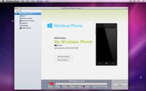 Windows Phone Mac app